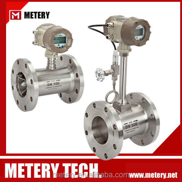Digital indicator Vortex butane gas flow meter