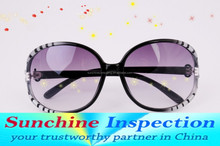 Myopia glasses quality check 3rd party Inspection service in Yiwu