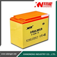 China electric road vehicle lead acid battery 12v