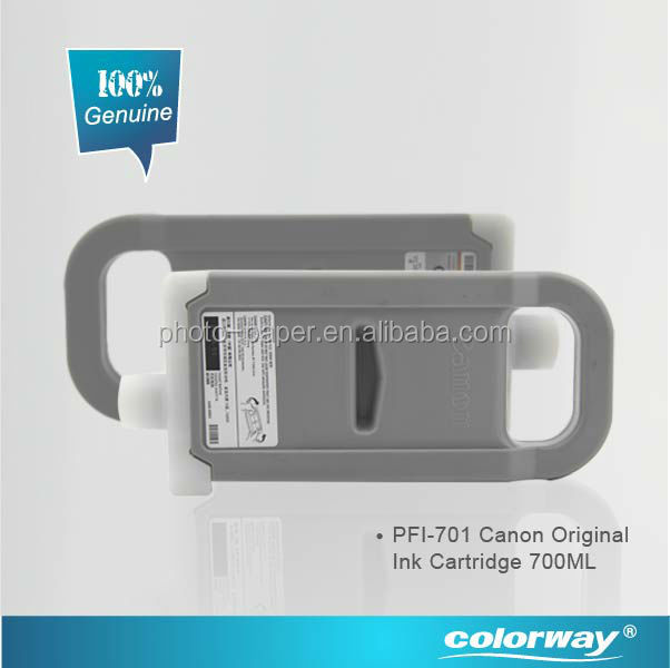 Hot- Original ink cartridges wholesale Canon PFI-701 canon printing ink for Canon iPF8000 / 8100 /8000S/ 9000 / 9100/9000S