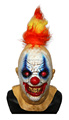 Halloween rubber neck squancho the clown mask