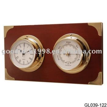 Nautical Clock/Weather Station