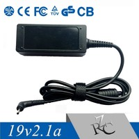 19v 2.1a power adapter for samsung mini laptop