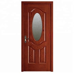 Foshan Manufacturer PVC Interior Bathroom Wood Door Pictures