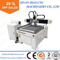 Chinese Small Mini 6090 CNC 3D Router Machine Woodworking / Stone For Sale