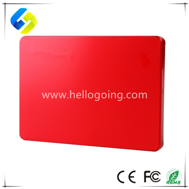 High speed 128GB 250GB 500GB external hard disk with Custom logo