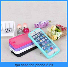 transparent tpu case for iphone 5 5s,Slim touch screen case Protector cover For Apple iPhone5 5s