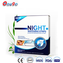 Onuge Dental White Teeth 3D Efficient Foam Teeth Whitening Night Strips