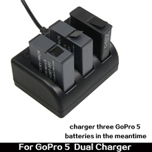 New Wholesale Factory Price USB battery charger for GoPro Hero 5