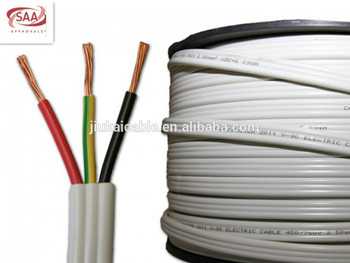 Australia standard tps flexible wire 2*10mm+E electric cable SAA ...