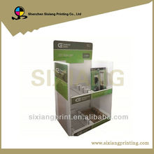 Retial easy assemble Promotional standing cardboard display,POP Sunglasses Display Paper Rack