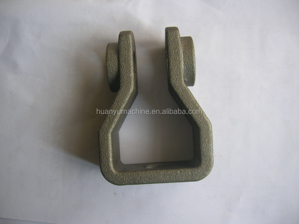 Lost wax casting saddle shaped frame