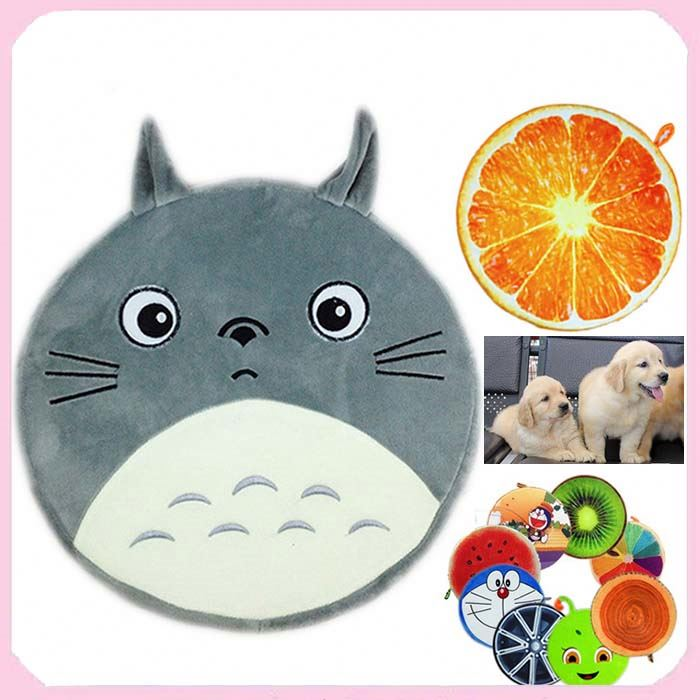 Wholesale Cheap Cartoon Fruits Pet Dog Beds Mattress