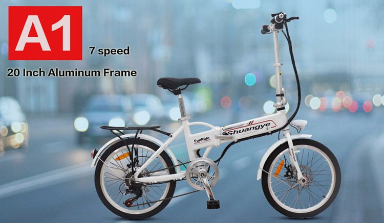 20 inch 36V folding electric bicycle/bike,ebike