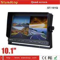"10.1"" bus dvd player car lcd monitor 24v with rca input"