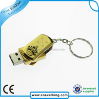 2GB 4GB 8GB metal swivel bulk cheap usb flash drives for 2.0