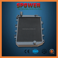 Aluminum radiator for ford mustang shelby gt500 high quality China factory direct on sale