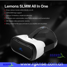 2016 New Arival All in One Virual Reality Glasses VR 3D Headset for Video and Games