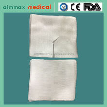 hemostasis absorbent gauze 8ply swabs gauze swab/Free samples surgical sterile Disposable Use Medical Gauze