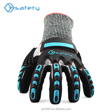 Nitrile rubber insulated cut resistant safety hand gloves