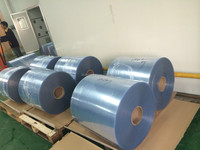 customized size rigid clear pvc film roll for vacuum forming