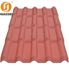 Building materials ASA plastic pvc roof tile/new roman clay roof tiles