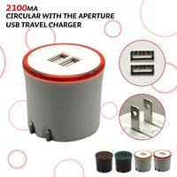 5v 2a dual usb travel charger power adapter for MP3, MP4, Samsung note 3, Iphone 5/5s battery operated usb travel charger