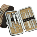 10pcs stainless steel manicure set pedicure set