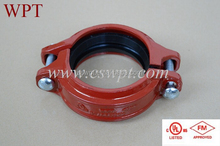 fire protection grooved fittings and Angel pad coupling