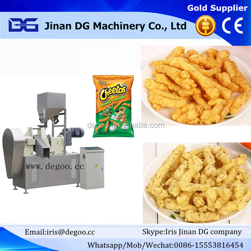 kurkure, nic nacs, cheetos snack making machinery
