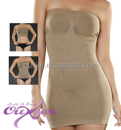 Hot Sale Seamless 3 in 1 Boob Tube Top Body Shaper Dress