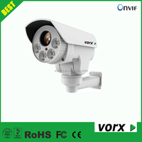 2.0 megapixel 4X zoom 30m IR bullet PTZ ip hd outdoor secuirity cctv network camera