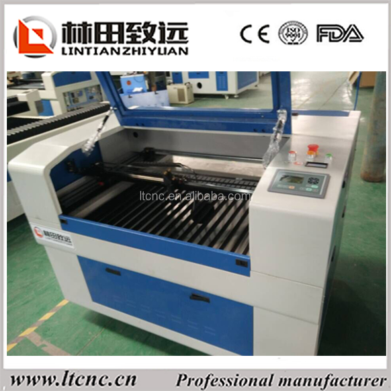 tempered glass laser cnc router cutting engraving machine high speed LT6090