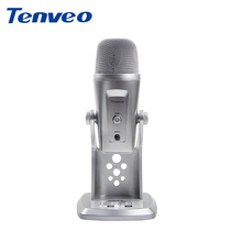 Tenveo AX5 Wired USB Professional Conference Table Microphone / Studio Microphone