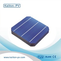A grade High Efficiency 156x156mm Mono Crystalline 3BB Solar Cell for sale