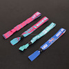 Factory directly custom giveaway gifts festival fabric wristband no MOQ