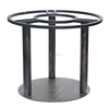 (SP-MTL244) Hot sale Antique rustic metal round table base for big table top