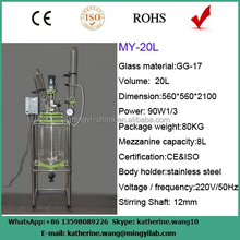 GG-17 glass material photochemical reactors