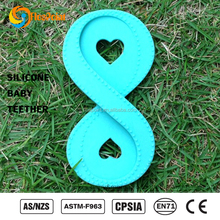 Wholesale Factory Teether Grasping Activity Toy Twisty Figure 8 Teether