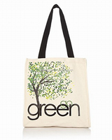 cheap printed canvas shopping tote bag