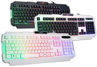 Led light gaming keyboard / keyboards computer for sale