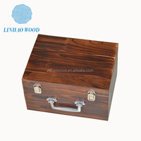 High Quality Wholesale Wood gift Box with Handle