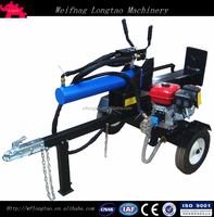 LS32T Honda, Kohler, Lifan gasoline engine 32 ton hydraulic log splitter