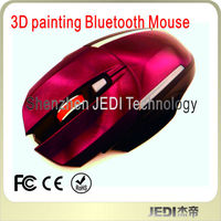 top-hot 3D painting bluetooth wireless mouse