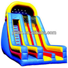 bright colour inflatable slides ,inflatable dry/ water slide