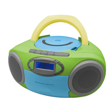 Multi Colour DAB PLL Radio CD boombox Player best price CT-289