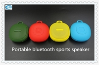 Wholesale Bluetooth sports speaker with keychain support TF card handfree call function