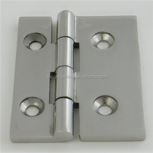 Stainless butt hinge unequal for marine hardware