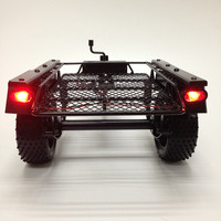 rc car size 1/10 low side trailer for scale crawler truck