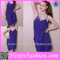 Wholesale Casual Women Sex Hours Beach Dresses